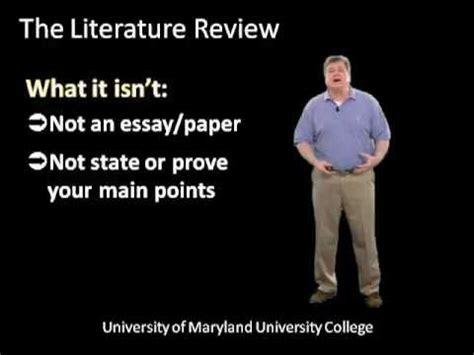 Write dissertation literature reviews